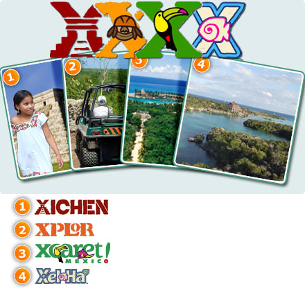 4X Combo: Xplor + Xcaret Plus + Xelha All Inclusive + Xichen