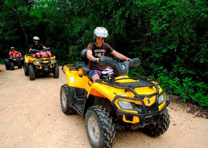 atvs-zipline-cenote-rivieramaya-tour