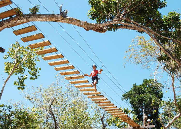 rivieramaya-aktunchenpark-suspensionbridge