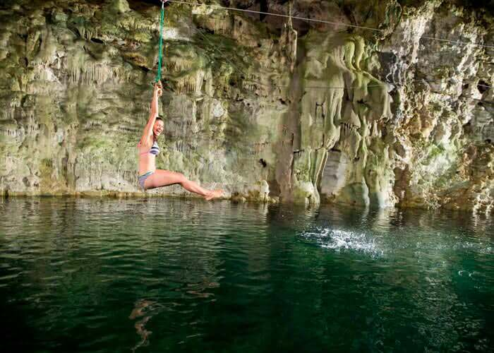 Ek Balam tour + Cenote Maya from Cancun