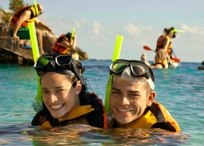 garrafon-islamujeres-couple-snorkel