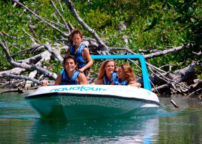jungle-tour-express-cancun-boat