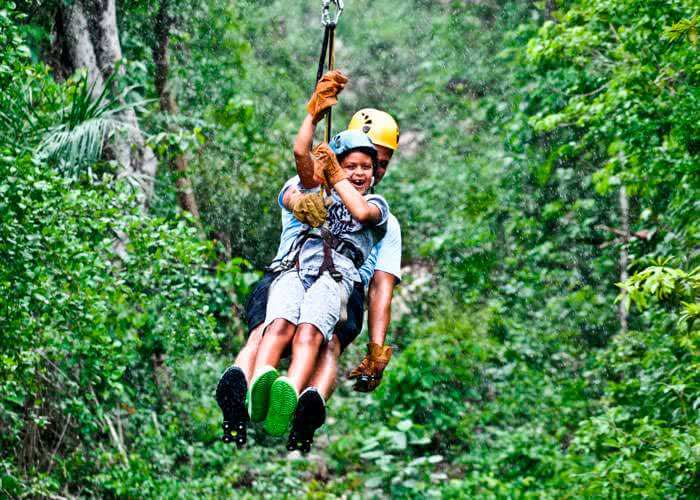 zipline-and-tulum-tour-from-cancun