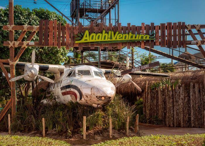 venturapark-cancun-ziplines-world