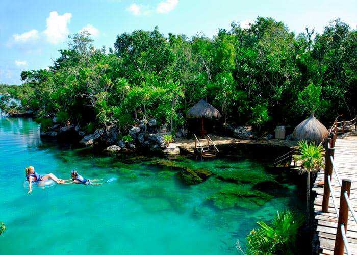 how to get to xel ha from tulum