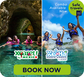 Tours and Excursions Cancun - Xcaret + Xelha