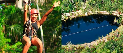 zipline-cenote-tour-cancun