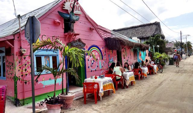 rustic town holbox