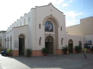 church of Cozumel