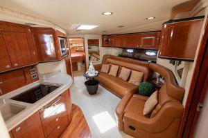 Luxury inside yatch