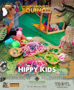 Activities for children in mayan equinox at Coba