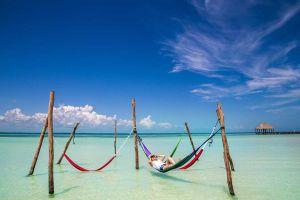 hammocks in holbox