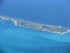 Contoy aerial view