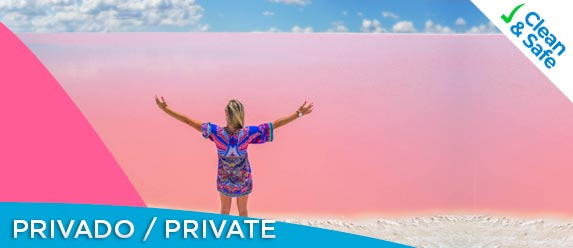 Las Coloradas private tour poster